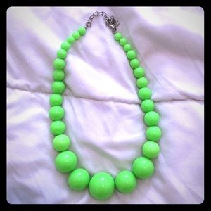 Jewelry - Lime Green Necklace